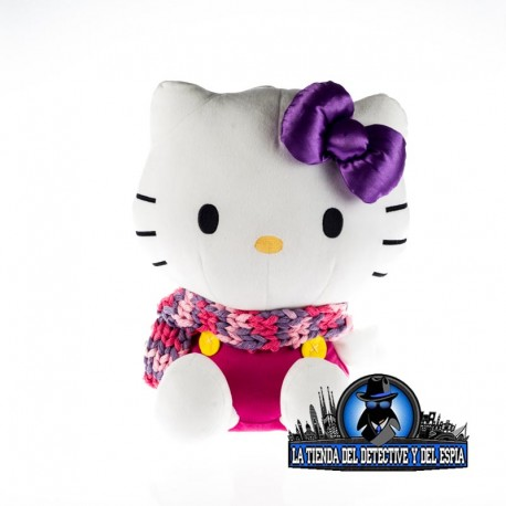 hello kitty con cámara oculta